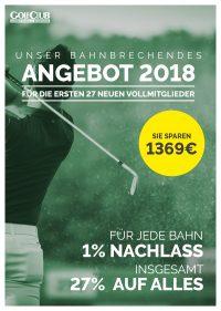 Golfclub Castrop Rauxel Mitgliedschaft Angebot 2018