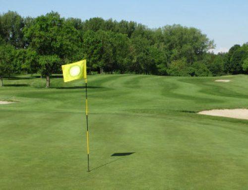 Golfsenioren AK 65 des GC Castrop belegen Platz 4 im Hünxer Wald