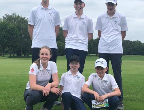 Castroper Golfjugendteam führt die Landesligatabelle an