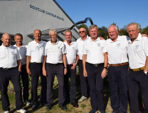 AK 65 Herrengolfer erspielen Tagessieg am letzten Ligaspieltag auf heimischer Anlage in Frohlinde