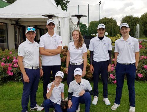 GC Castrop Golfjugend steigt sensationell in die Regionalliga auf