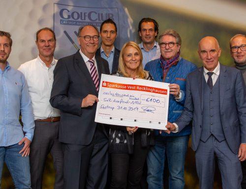Scheckübergabe an die Solidarfonds NRW Stiftung