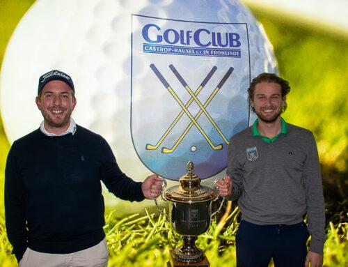 Das Duo Freiesleben / Haggart gewinnt 4er-Clubmeisterschaften